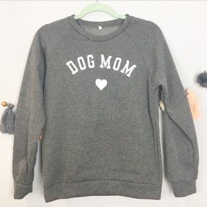 Sweaters - NEW DOG MOM CREWNECK SWEATSHIRT